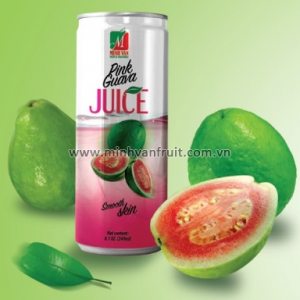 Canned Pink Guava Juice 1