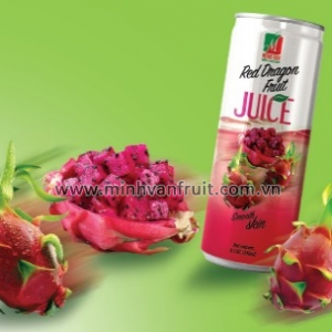 Canned Red Dragon Fruit Juice 1