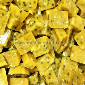Frozen Passion Fruit Cubes with Seeds 1